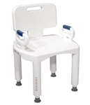 Shower Chair Removable Arm 20-1/2 Inch