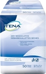 Tena Dry Wipes and Washcloths
