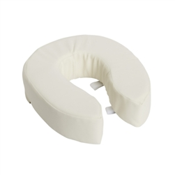 Toilet Seat Cushion in White