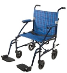 Fly Lite Aluminum Lightweight Wheelchair with Footrests