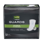 Bladder Control Pad Depend Guards for Men 12 Inch Length