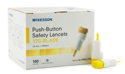 SunMark Pressure-Activated Safety Lancets