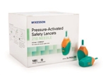 McKesson Pressure Activated Safety Lancets