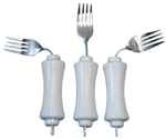 Ubend- IT Angled White Stainless Steel Fork