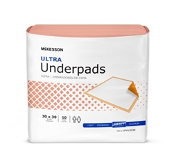McKesson Ultra Underpads
