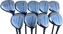 Integra SoooLong Wedgewood Style Fairway Hybrid Set