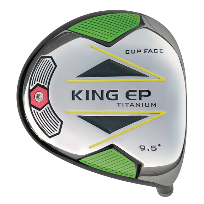 King EP Cup Face Titanium Driver