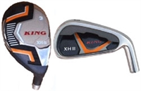 3-PW King XH II Hybrid/Iron Combo Set