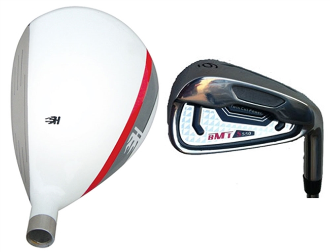 3-PW Heater BMT S550 Hybrid/Iron Combo Set