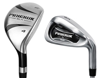 4-PW, AW Pinhawk Single Length Hybrid/Iron Combo Set
