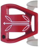 Twin Engine Red Putter Component