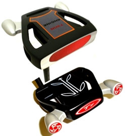 Twin Engine Black Putter Component