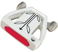 Twin Engine White Putter Component