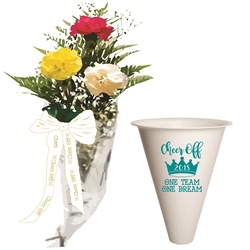 3 Carnation Bouquet with 2018 Event Megaphone