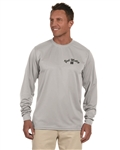Yak Motley Long Sleeve Moisture Wicking T-Shirt with 'Fight the Skunk' Logo