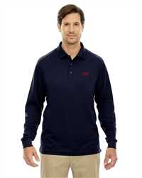 Men's Origin Performance Long-Sleeved Pique Polo
