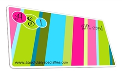 Absolutely Specialities Gift Card