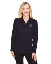 Devon & Jones CrownLux Performance Ladies' Long Sleeve Polo