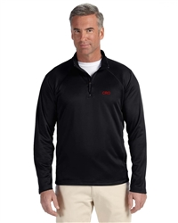Men's Stretch Long Sleeved Tech-Shell Compass Quarter-Zip