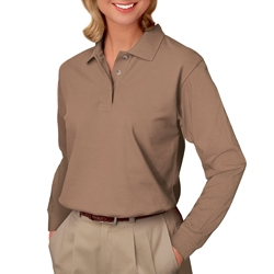 Ladies Long Sleeve Polo