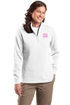 Ladies Quarter-Zip Sweatshirt