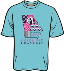 2015 Cheer Off Champion Short Sleeve T-Shirt