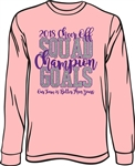 Cheer Off 2018 Champion Long Sleeve T-Shirt