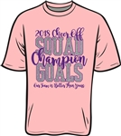 Cheer Off 2018 Champion Short Sleeve T-Shirt
