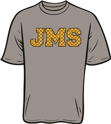 Jordan M.S. JMS on Sport Grey T-Shirt