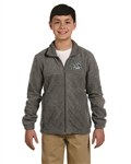 Cedar Hill Embroidered Logo on Full Zip Fleece Jacket
