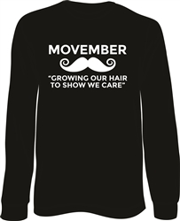 Movember Long Sleeve T-Shirt