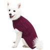 Blueberry Pet Acrylic Classic Cable Knit Dog Sweater