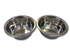 Stainless Steel Dog Bowl Set, Medium, Two Bowls One Low Price!