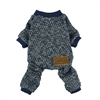 Fitwarm Knitted Thermal Pet Clothes for Dog Pajamas PJS Coat Jumpsuit