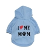 Howstar Pet Clothes, Puppy Hoodie Sweater Dog Coat Warm Sweatshirt Love My Mom Printed Shirt
