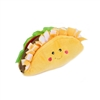 ZippyPaws- NomNomz Plush Squeaker Taco Dog Toy For The Foodie Pup