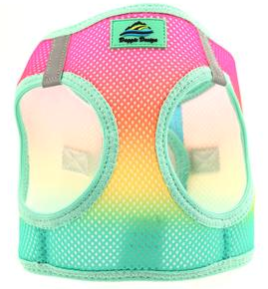 American River Choke Free Dog Harness Ombre Collection - Beach Party Ombre