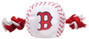 BOSTON RED SOX DOG TOY – NYLON W/ROPE