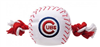 CHICAGO CUBS DOG TOY – NYLON W/ROPE