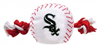 CHICAGO WHITE SOX BASEBALL TOY – NYLON W/ROPE