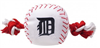 DETROIT TIGERS BASEBALL TOY – NYLON W/ROPE