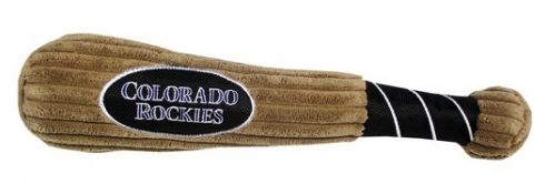 COLORADO ROCKIES PLUSH BASEBALL BAT