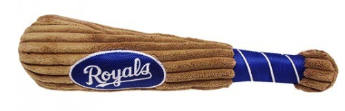 KANSAS CITY ROYALS PLUSH BASEBALL BAT