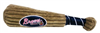 ATLANTA BRAVES PLUSH BASEBALL BAT