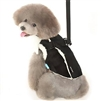 Furry Winter Dog Harness Coat by Dogo - Black