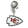Kansas City Chiefs Logo Dog Collar Charm21.8