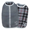 Zack and Zoey Nor'easter Dog Blanket Coat - Gray