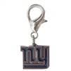 New York Giants Logo Dog Collar Charm