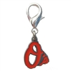 Baltimore Orioles Logo Dog Collar Charm