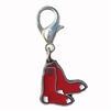 Boston Red Sox Logo Dog Collar Charm